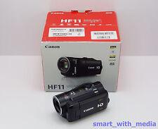 CANON HF11 CAMCORDER BOXED 32GB FLASH MEMORY / CARD HD DIGITAL HIGH DEFINITION