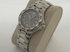 TAG HEUER KIRIUM QUARTZ WATCH - SILVER/GREY DIAL - NICE CONDITION - New Battery