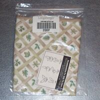 Longaberger Lattice Leaf CAKE Basket Liner ~ Brand New in Original Bag!