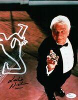 Leslie Nielsen  Signed Autographed 8X10 Photo The Naked Gun Police Squad JSA