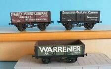 3 Mainline Airfix 4mm OO Plastic - Private Owner Coal Mineral Freight Wagons