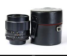Lens Super  Multi Coated  Takumar 1.9/85mm   for Pentax M42