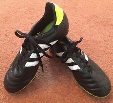 Adidas goletto TRX FG black boys junior blades football boots Q33538 UK 3.5