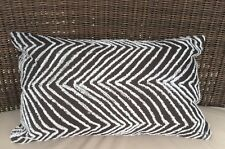 Black and White Rectangle Cushion Cover Clearance 30x50cm RRP $ 35.95 AUS Seller