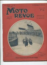 Moto Revue N°739 ; 8 mai  1937  : Zundapp 4 cylindres / Tour de France moto
