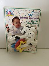 New listing Vintage Carter's Nursery Needs Klicking Cow Rattle Brand New Sealed 1992, Rare