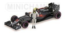 MINICHAMPS 530 164022 McLaren F1 voiture modèle + J Bouton figure Final GP 2016 1:43