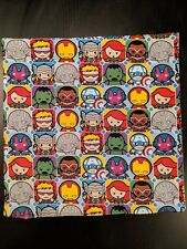 "Marvel Mini Heroes Throw Pillow 15""x15"" (Iron Man, Captain America, Hulk)"