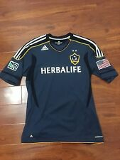 Gonzalez, 11-12 LA Galaxy Away SS Formotion Player Issue Shirt Size L