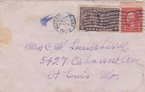 Stamps USA 2c Washington uprated with 10c special delivery from Marshalltown