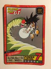 Dragon Ball Z Super Battle Power Level Hidden Prism 720 (Unpeeled)