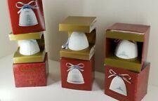 Lot Of 8 Lladro Christmas Bells 2000, 01, 02, 03, 04, 05, 06, 07