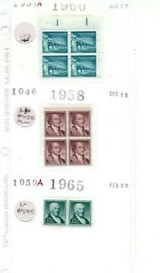 Mint USPS Postage - Mixed! 2 Blocks of 4 Stamps & a Pair of 25 Cent Stamps - MNH