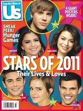 Us Magazine Special Issue Justin Bieber Demi Lovato Miley Cyrus Emma Watson 2011