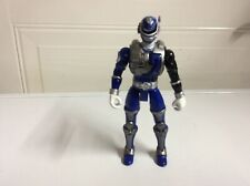 Power Rangers SPD Sound Patrol Blue Power Ranger 2 Action Figure 2005 Bandai 6""