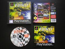 V-RALLY : JEU Sony PLAYSTATION PS1 PS2 (Infogrames COMPLET envoi suivi)