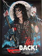 ALICE COOPER `The Man Behind The Mask`  large poster 63x48 cm