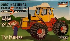 ERTL CASE 2470 TRACTION KING 2007 NATIONAL FARM TOY SHOW 1/32 16167A