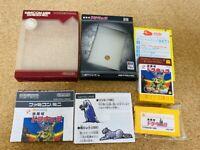 Gameboy Advance Famicom Akumajo Dracula castlevania GBA w/box tested