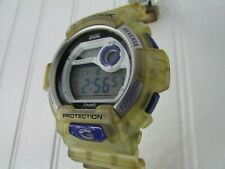 Casio G Shock DGK Watch Limited Edition 3285 G-8900DGK Clear Band