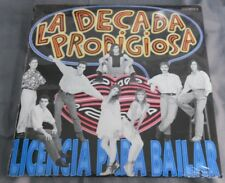 LA DECADA PRODIGIOSA LICENCIA PARA BAILAR SPANISH LP STILL SEALED POP EN ESPAÑOL