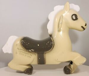 PLAYWORLD SYSTEMS VINTAGE SPRING RIDER ROCKING HORSE CAST METAL PLAYGROUND RIDE