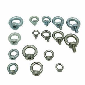 Ringschraube Ringmutter Din 580 Din 582 Muttern Schrauben Augenschraube M6 M8 10