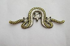 """#2378 3-1/4"""" Cowboy Rope,Star,Saddle Embroidery Iron On Applique Patch"""