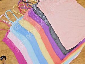 JEZEBEL / FELINA ladies Charming Lace & Modal Camisole 9 colours brand new BNWT