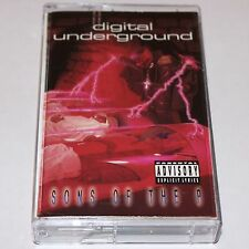 Digital Underground Sons Of The P Cassette Tape Hip Hop Rap '91 Tommy Boy 2Pac