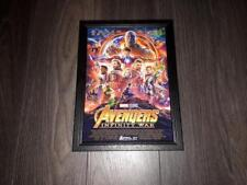 "AVENGERS - INFINITY WAR PP SIGNED & FRAMED A4 12X8"" PHOTO POSTER AUTOGRAPH THOR"