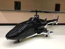 RotorScale Radio Controlled Airwolf Helicopter With Original Box PNP