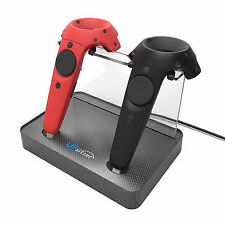 Wireless Controller Upartner Magnetic Dual Charger Stand Holder for HTC Vive