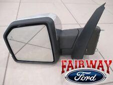 15 thru 18 F-150 OEM Ford Heat Signal Pwr Fold BLIS Mem Chrome LH Driver Mirror