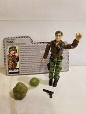 G.I. Joe HAWK -1986 COMPLETE  with file card and accessories