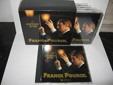 5 X CD COFFRET  FRANCK POURCEL *LE COFFRET D'OR*