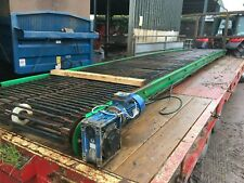More details for haith 7.5m conveyor 1200mm wide continental web, waste baler feed picking belt