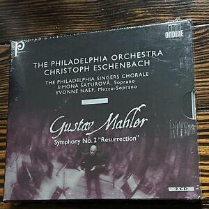 Eschenbach / Mahler: Symphony No. 2 'Resurrection' (2-CD Set) (NEW) (Ondine) -..