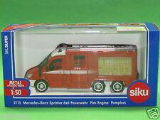 1:50 Siku Super 2113 Mercedes-Benz Sprinter 6x6 Feuerwehr Blitzversand per DHL
