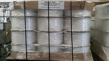 $1,295 Per Pallet, 24 coils, smooth 9mm Strapping,Polypropylene,16000' per roll.