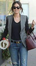 NWT! Reese + Riley New Soulmate Women Jacket Blazer Black Ash Grey Size 4 rr7040