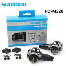 For PD-M520 SPD MTB Bike Pedal Clipless Cycling Pedals + Cleats NIB