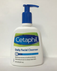 Cetaphil Daily Facial Cleanser-Normal To Oily Skin-8oz.-Fragrance Free