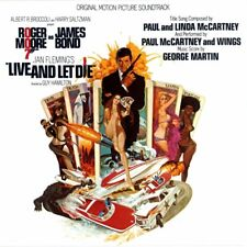 ORIGINAL SOUNDTRACK LIVE AND LET DIE CD NEW