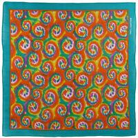 Mutli Coloured Psychedelic Peace Symbol Bandana Bandanna Scarf