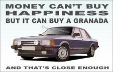 Ford Granada Mk2 GL 2.8 Ghia Art illustration Novelty Fridge Magnet