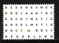 Netherlands - 1997 550 year financial office Mi. 1619 MNH
