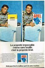Publicité Advertising 1981 La Lessive Ariel