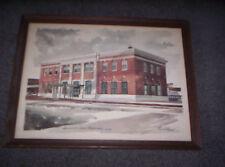 Milwaukee Depot Station Train Station Paul N Norton Print Railroad Davenport IA