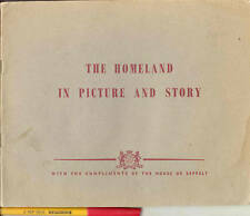 Australiana THE HOMELAND (UK) in PICTURES & STORY 100yr